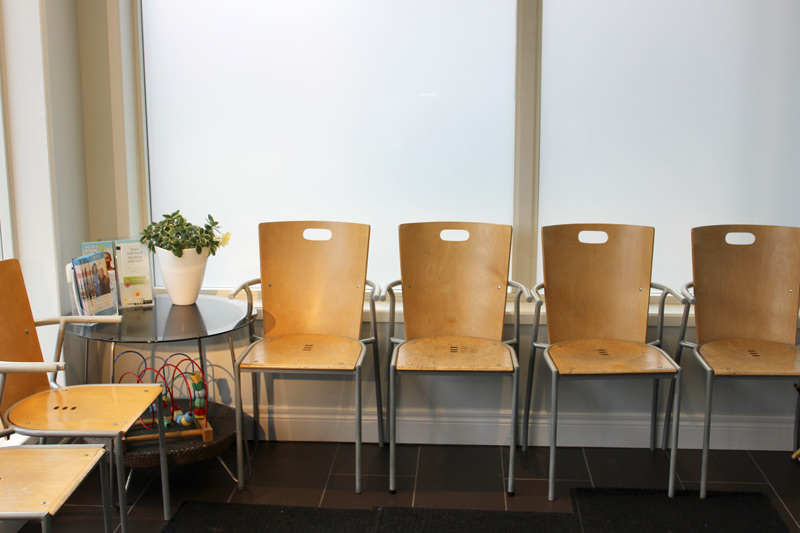 Health Source Medical clinic waiting room